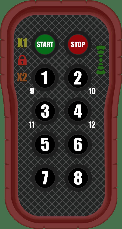 Radiomando trampilla elevadora